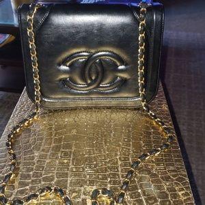 Handbags - Black bag(Vintage)